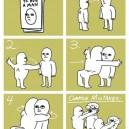 The Proper Way To Hug A Man