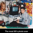 The most 90's photo ever!