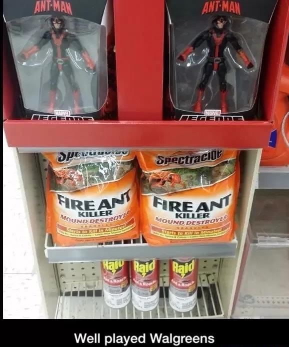 Well played Walgreens
