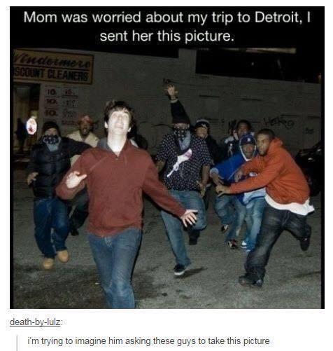 A trip to Detroit