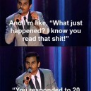 Aziz Ansari on the texting game