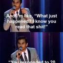 Aziz Ansari on the texting game
