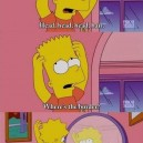 Bart Simpson trauma