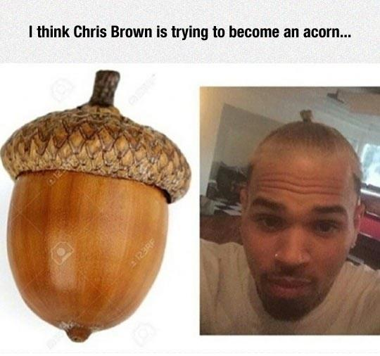 Chris Brown's Look