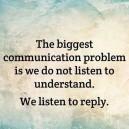 Our Biggest Communication Problem