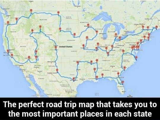 The Most Important Places In Each State of USA