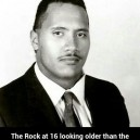 The Rock At 16