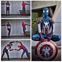 When Two Superheros Merge