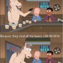A horse walked into a bar..