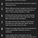 Essential Guy Code Laws