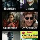 Every Superhero Has His Deadly Enemy