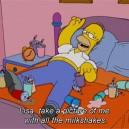Proud Homer Simpson