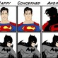 Superman Emotions Vs. Batman Emotions