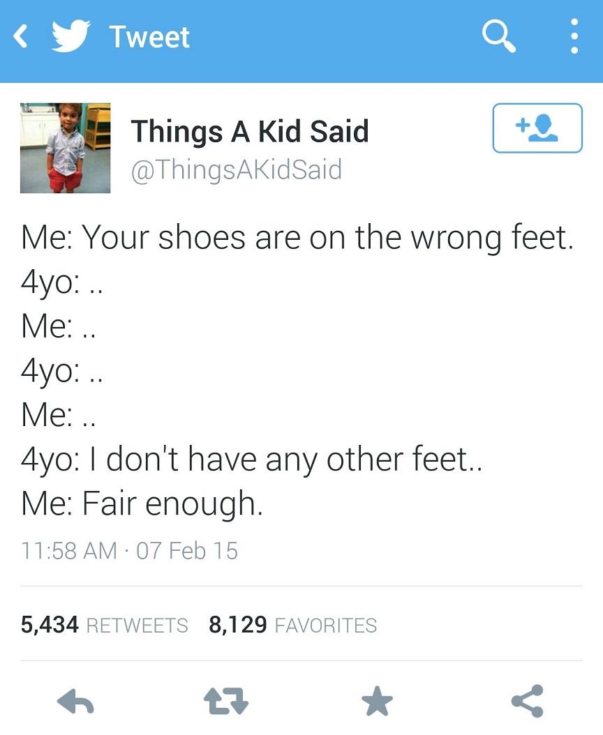 That logic…