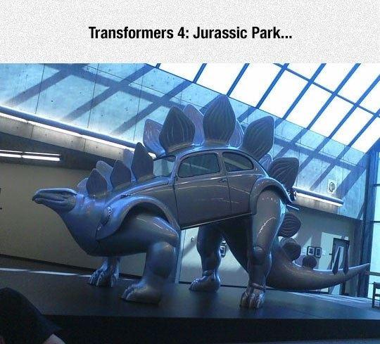Transformers 4 Jurassic Park