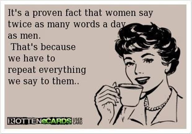 Why women talk twice as much as men