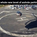 A whole new level of bad parking