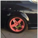 Awesome painted rims
