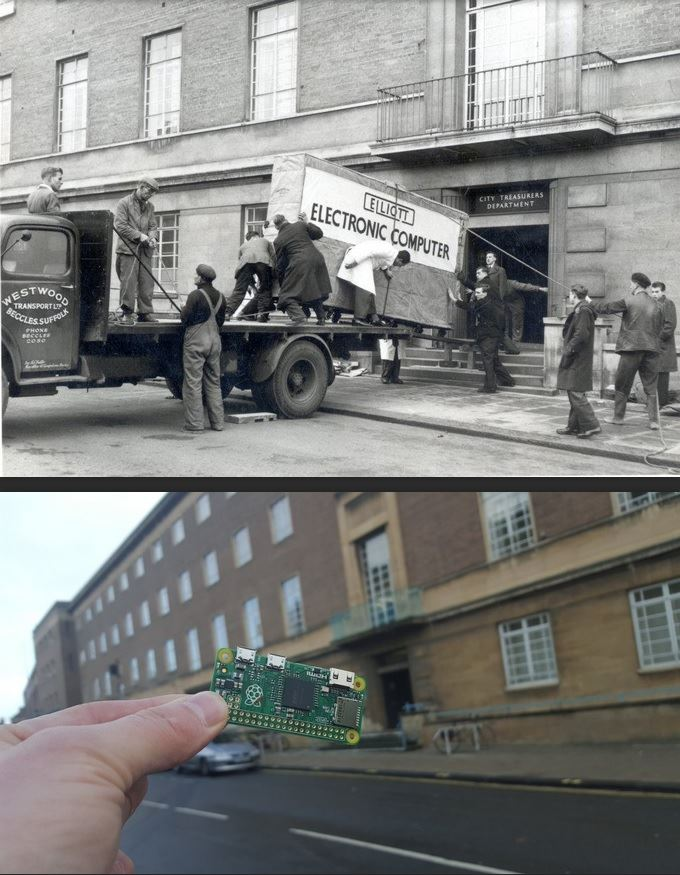 Computers came a long way in 58 years