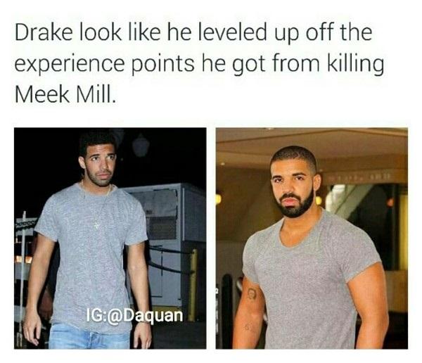 Drake Leveled Up