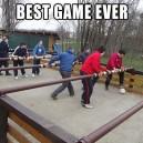 Giant Foosball Game