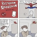 In The Restroom With Spiderman 2
