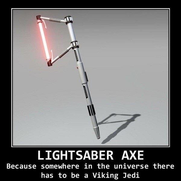 Lightsaber Axe