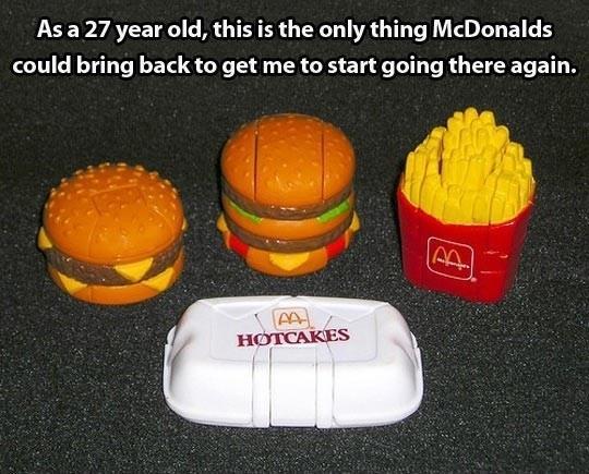 McDonalds Should Bring These Back