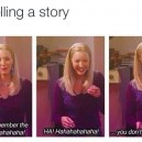 Me telling a story