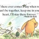 Nice words from Winnie the Pooh