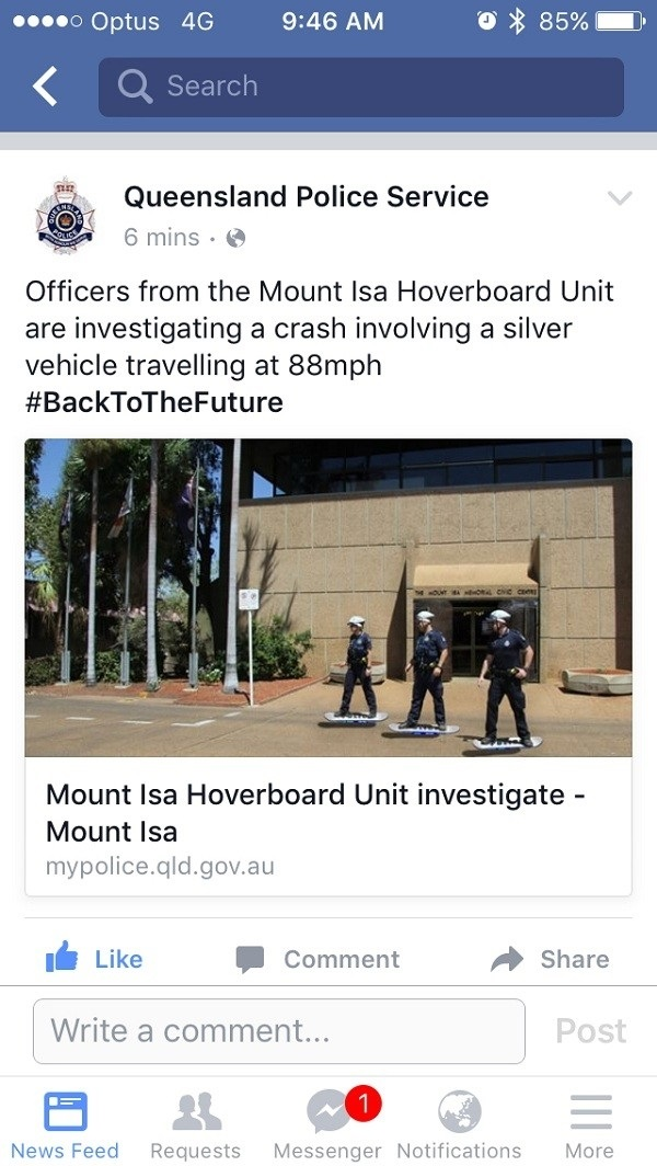 Queensland Police Win Again
