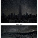 Skylines without pollution by Thierry Cohen