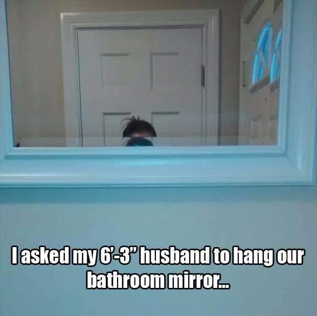 Tall husband problems