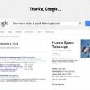 Thanks Google