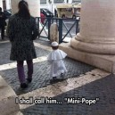 The Mini Pope
