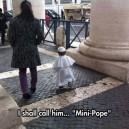 The Mini Pope