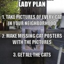 The Perfect Cat Lady Plan
