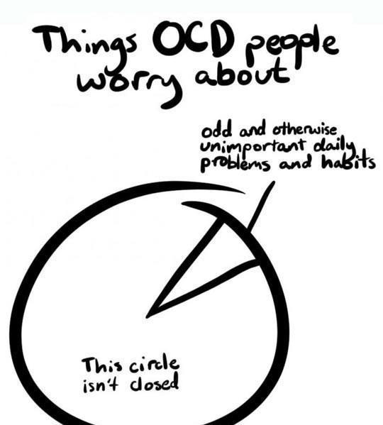 Things OCD people worry about
