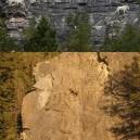 Awesome Mountain Goats Rock Climbing