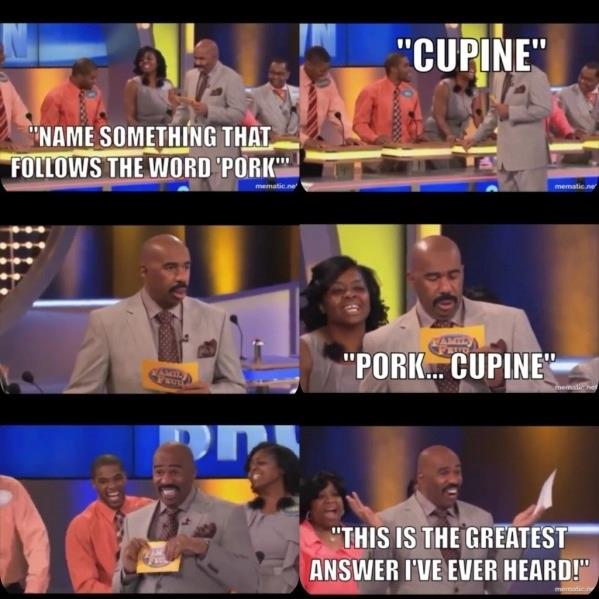 Family Feud at its best