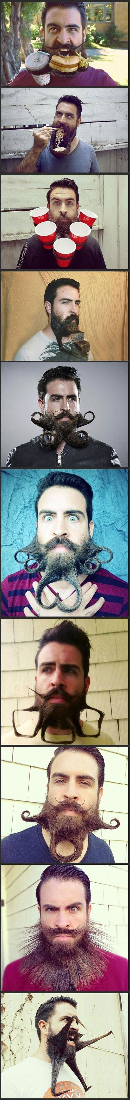 Meet Crazy Beard Guy