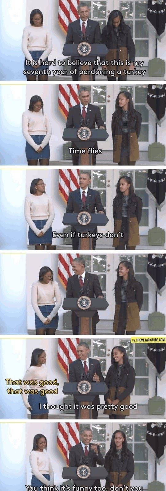 Obama Drops The Dad Joke of 2015