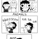 Physical Contact People Vs. Animals