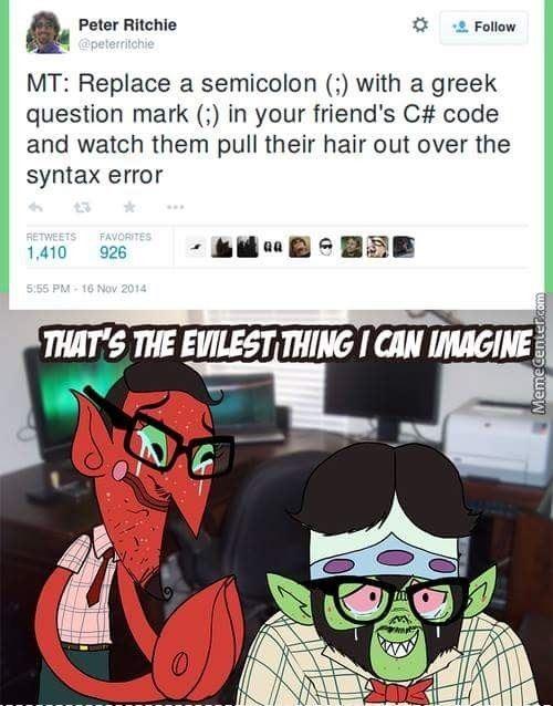 Pure Geek Evil