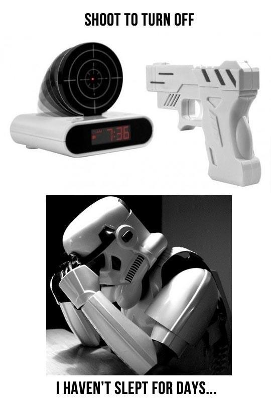 Storm Trooper Problems