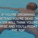 What to do if you are drowning