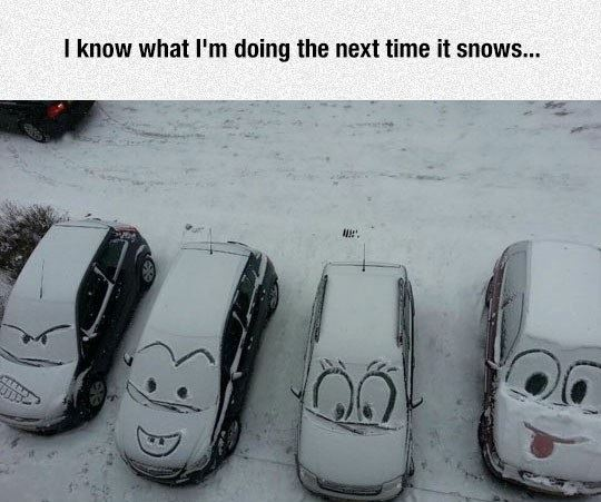 What to do when it snows