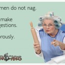 Women do not nag