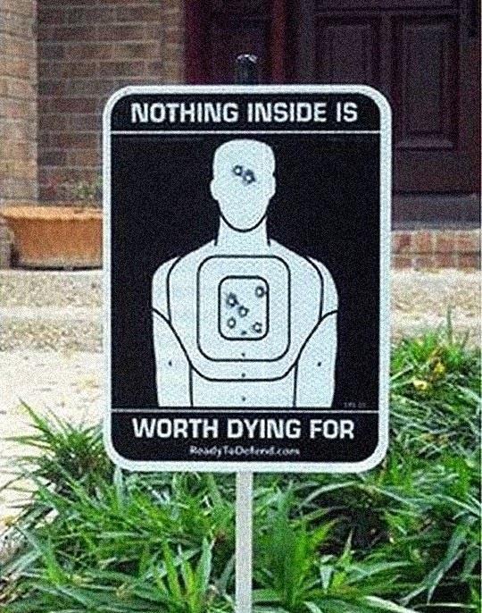 Better Think Again, Burglars