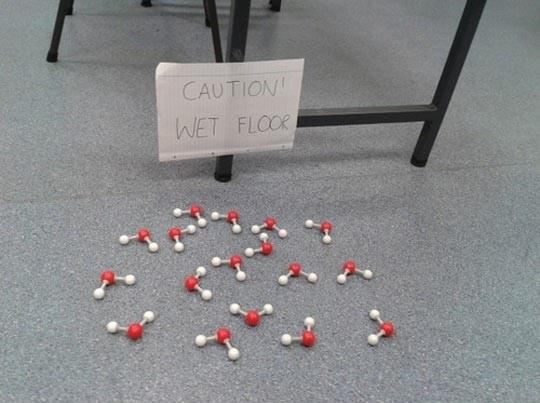 Caution! Wet Floor